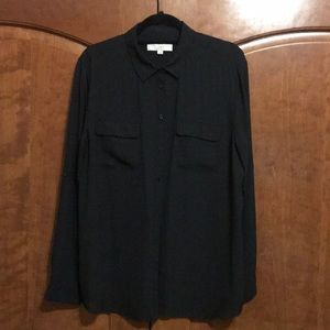 Utility Blouse - Black - LOFT